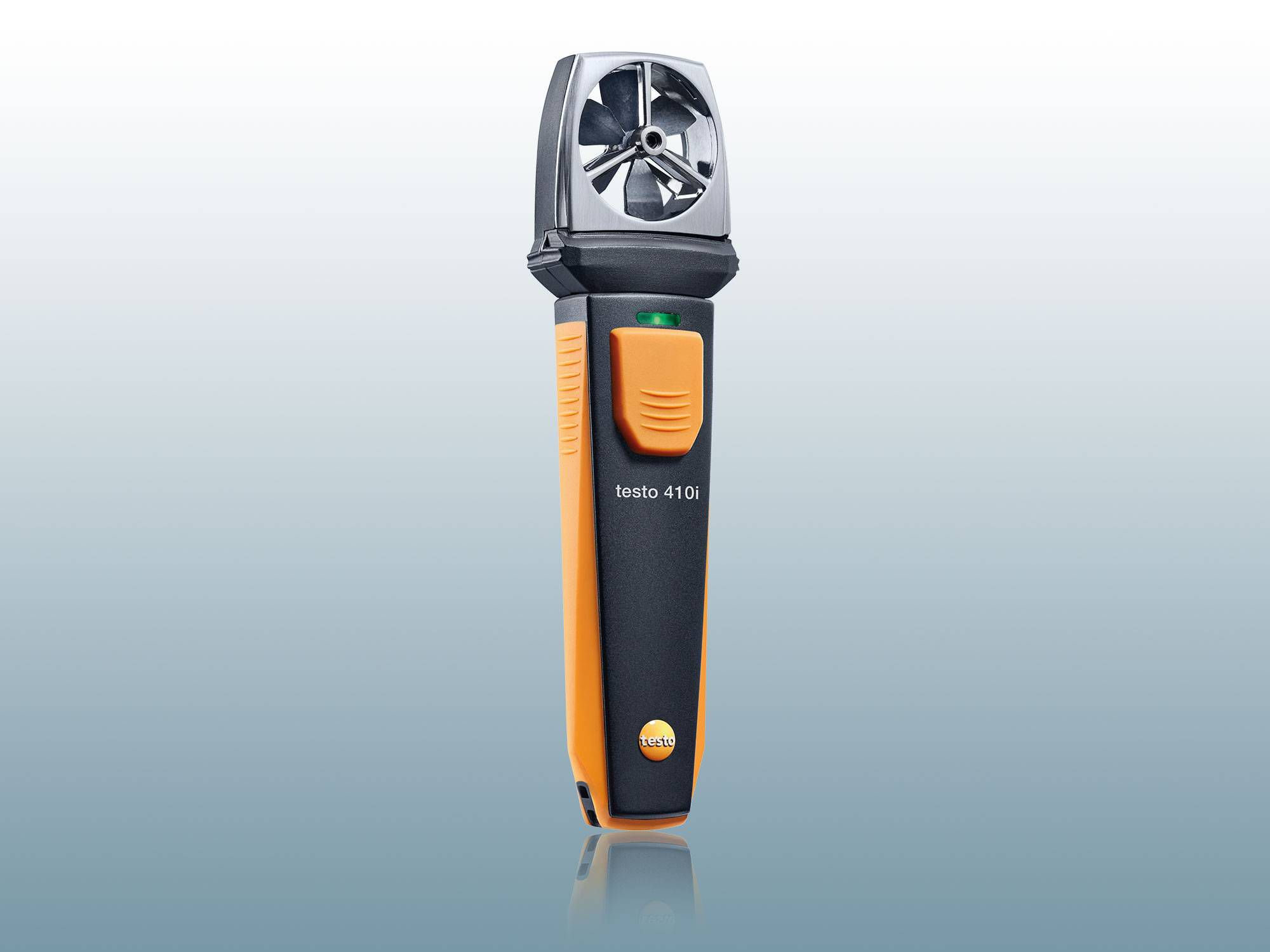 testo 410i – vane anemometer operated by smartphone