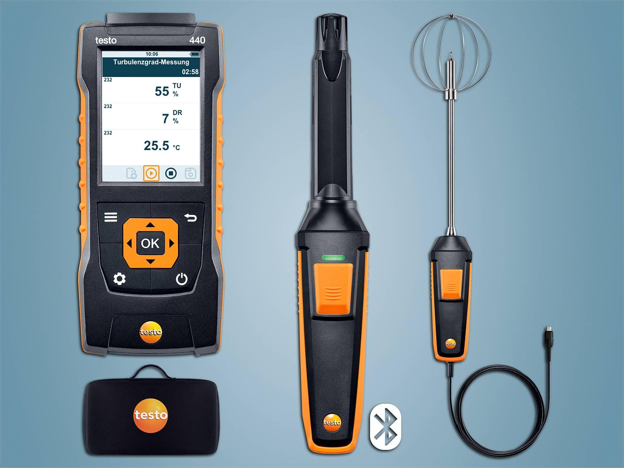 testo 440 Behaglichkeits-KombiSet mit Bluetooth