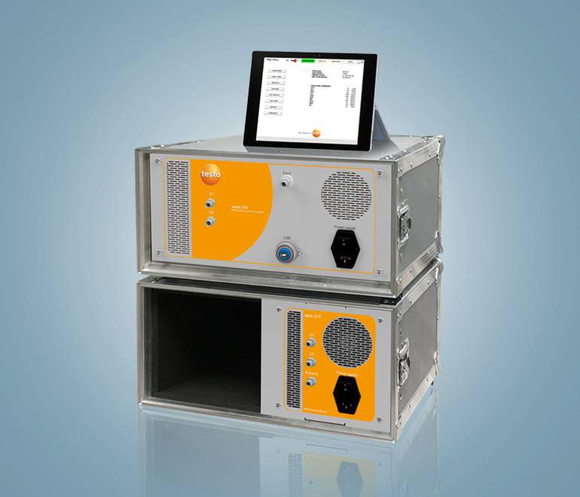 testo 370 高精度红外烟气分析仪