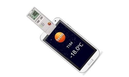 NFC 手机直读功能,借助APP随时掌握运输过程温度数据,保证过程可控