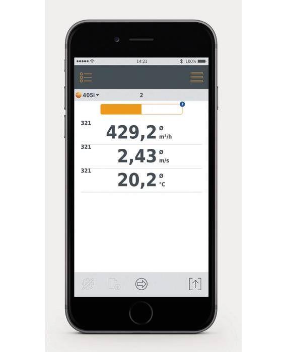 testo 405i Smart Probes App