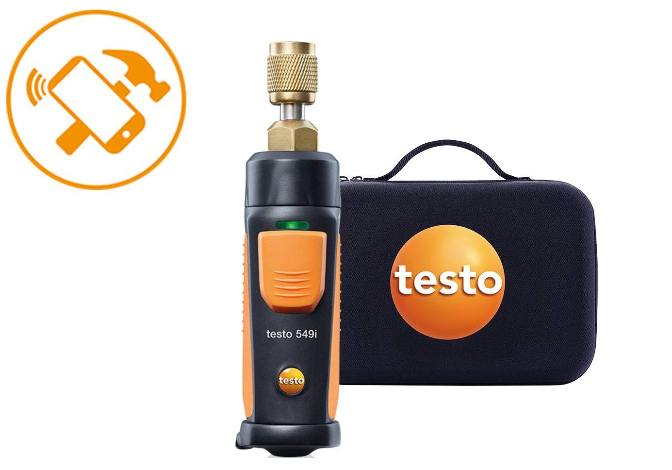 testo Smart Probes Set Anwendungs-Highlight Druckmessung