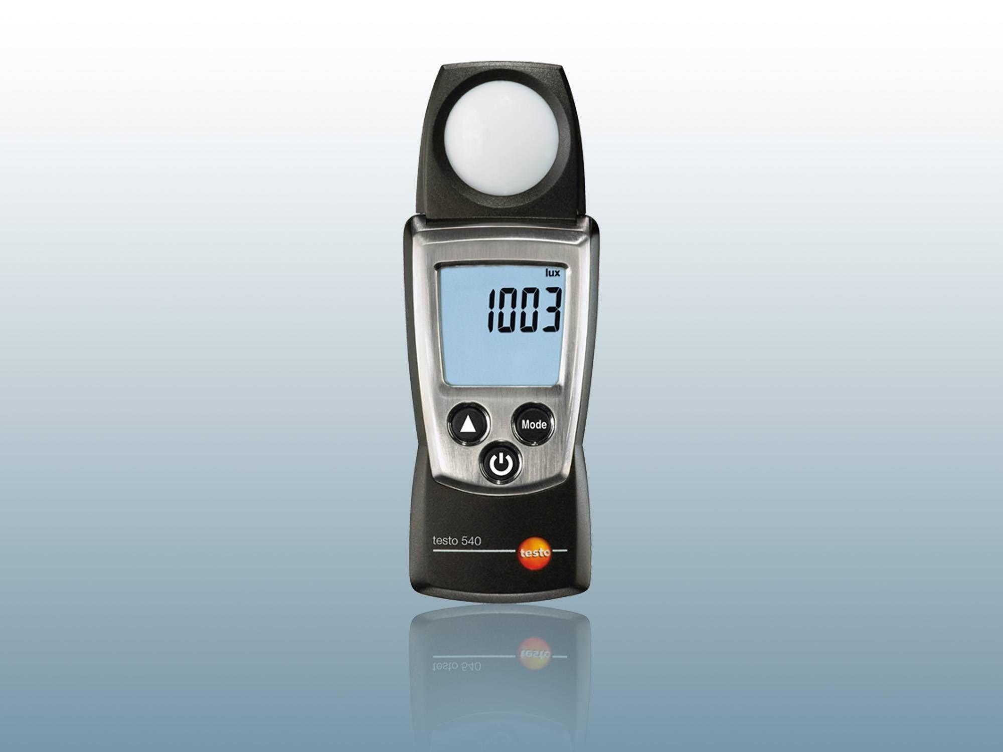 Luxómetros / Medición de la intensidad de la luz