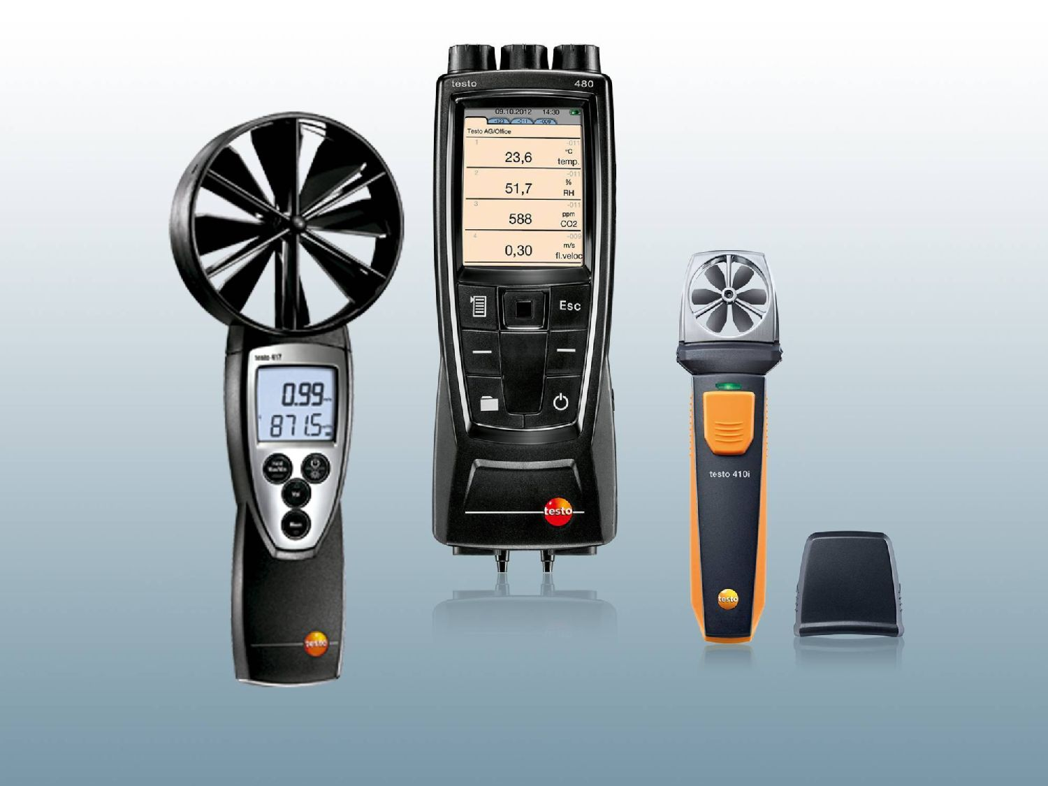 Volumetric flow measuring instruments