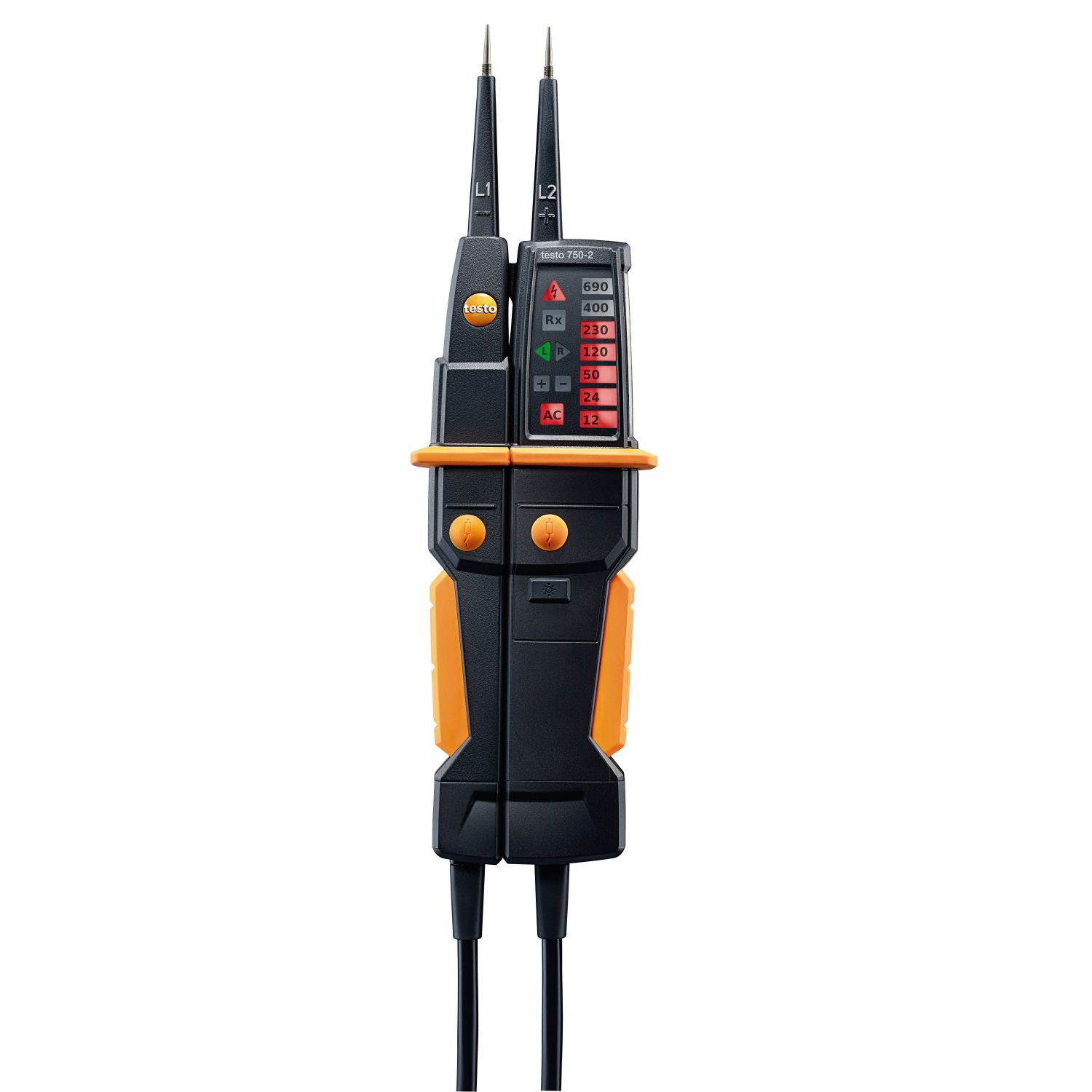 testo 750-2 contrôleur de tension