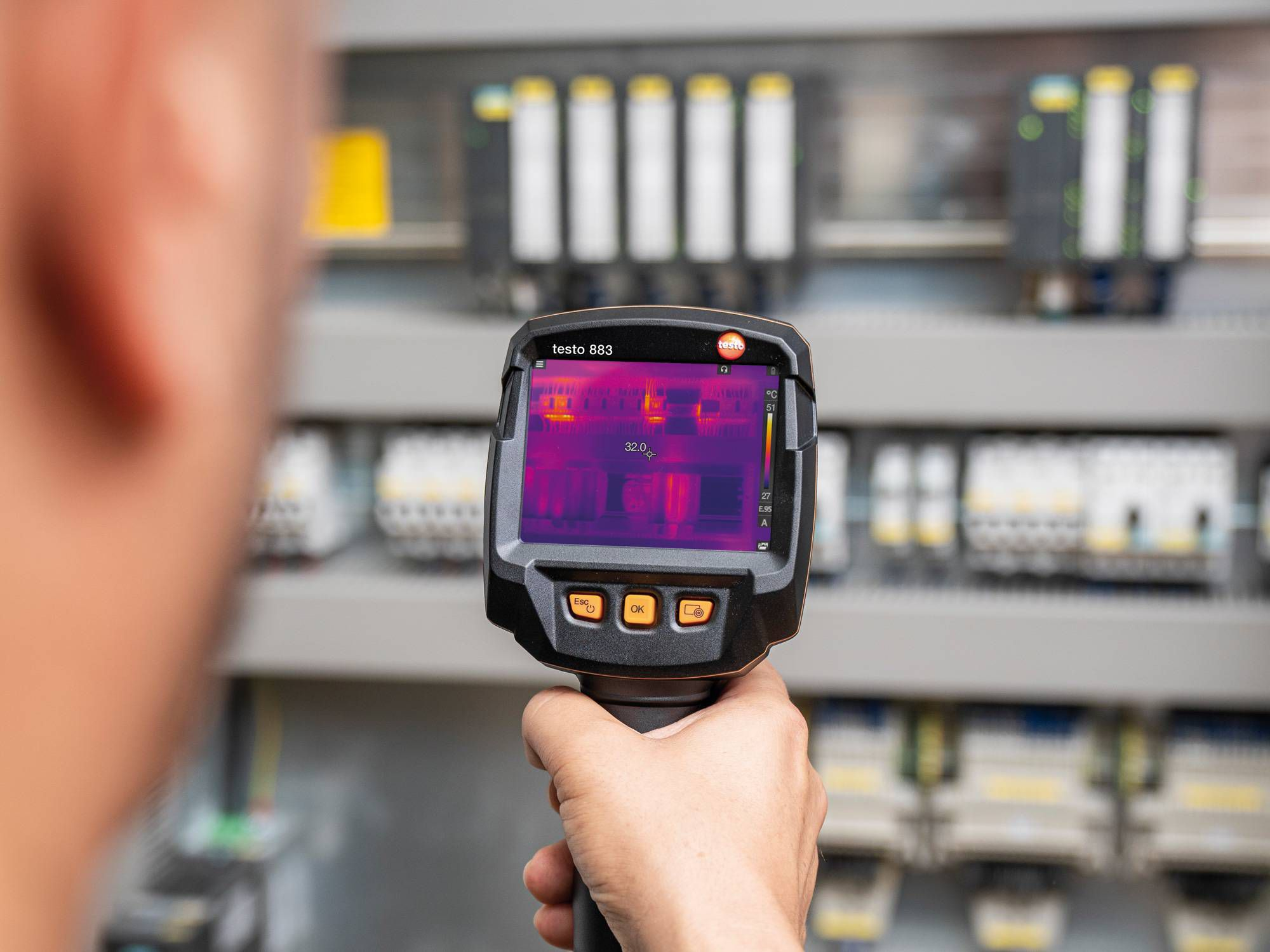 Thermography application electrical installations