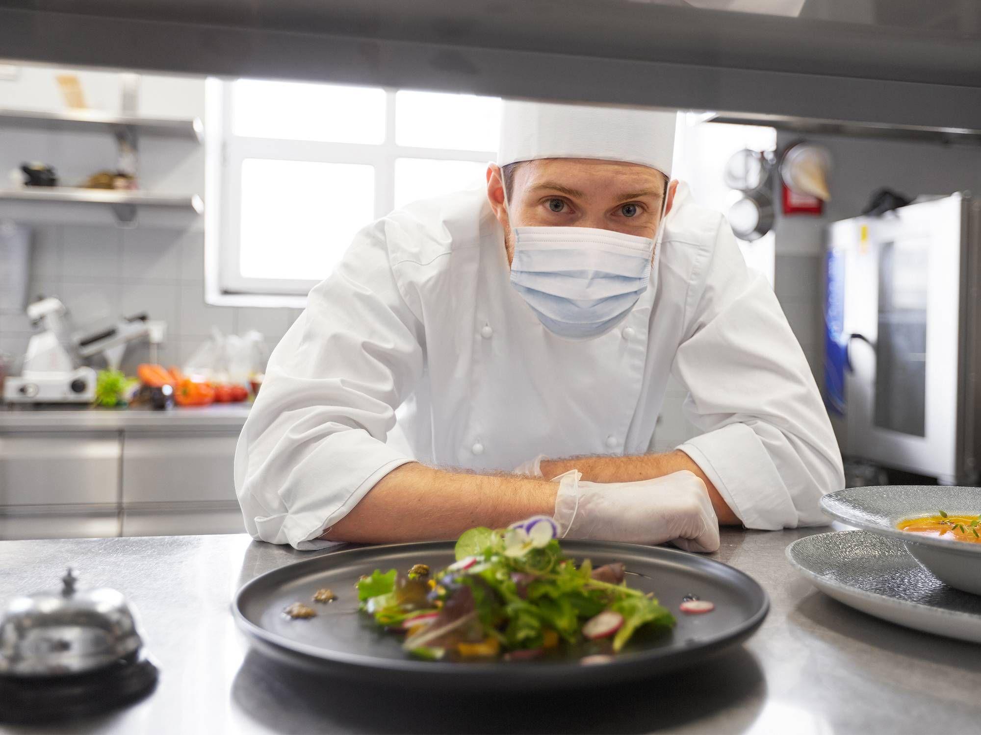 Sécurité au travail avec des aliments