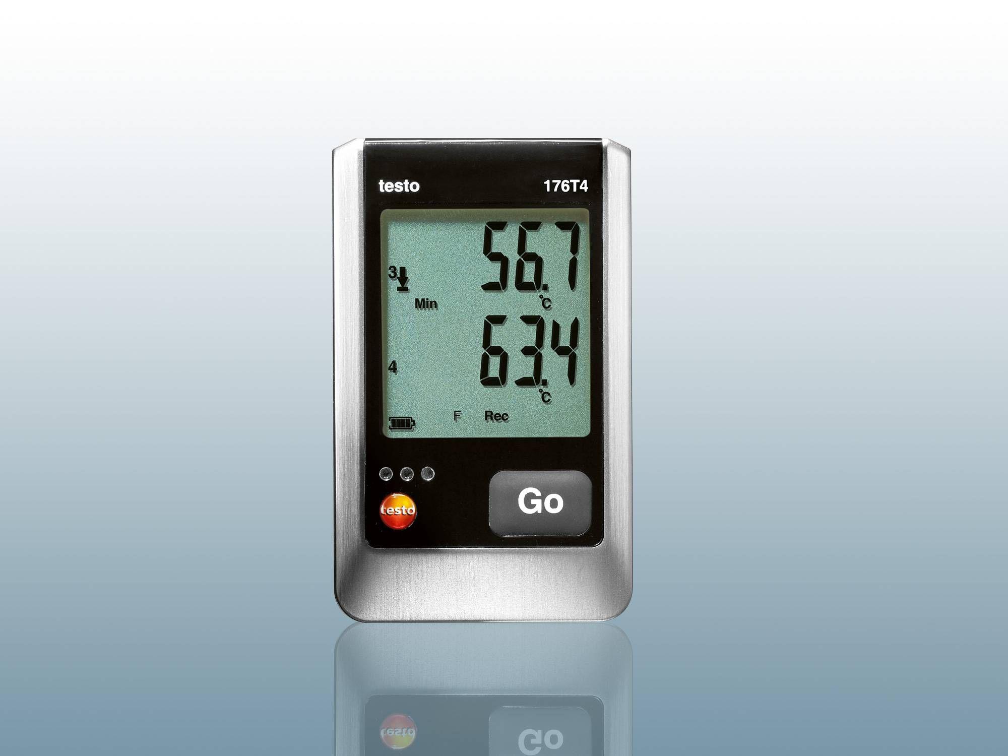 センサ外付け温度データロガー
