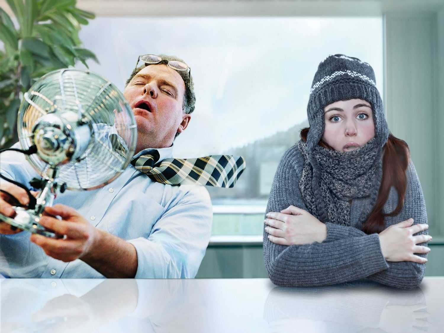 Indoor air quality in the office