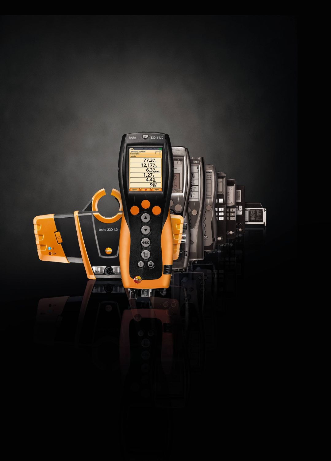 Flue gas analyzers from Testo: Measure longer better.