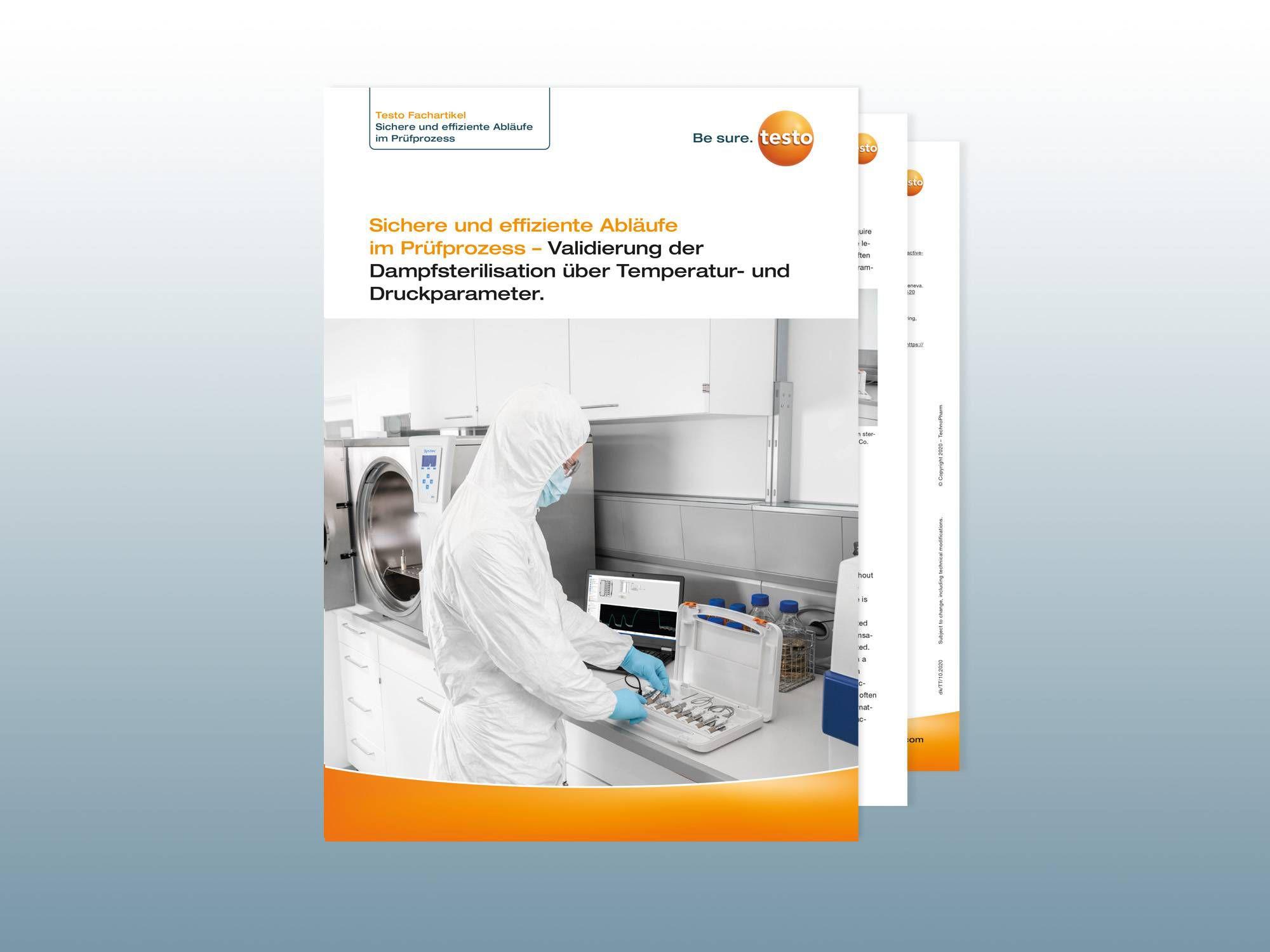 Whitepaper: Validierung der Dampfsterilisation