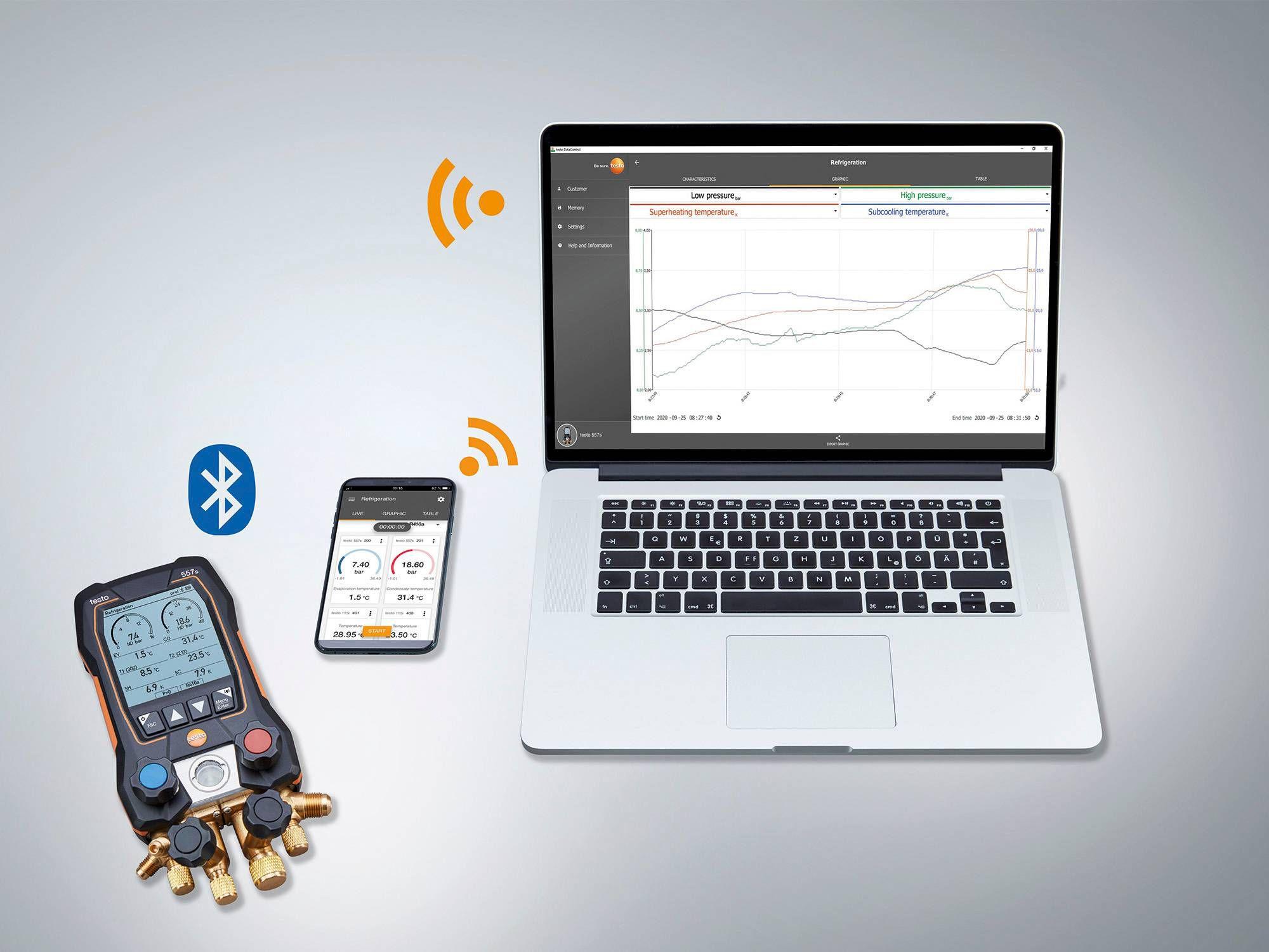 testo Smart App testo DataControl