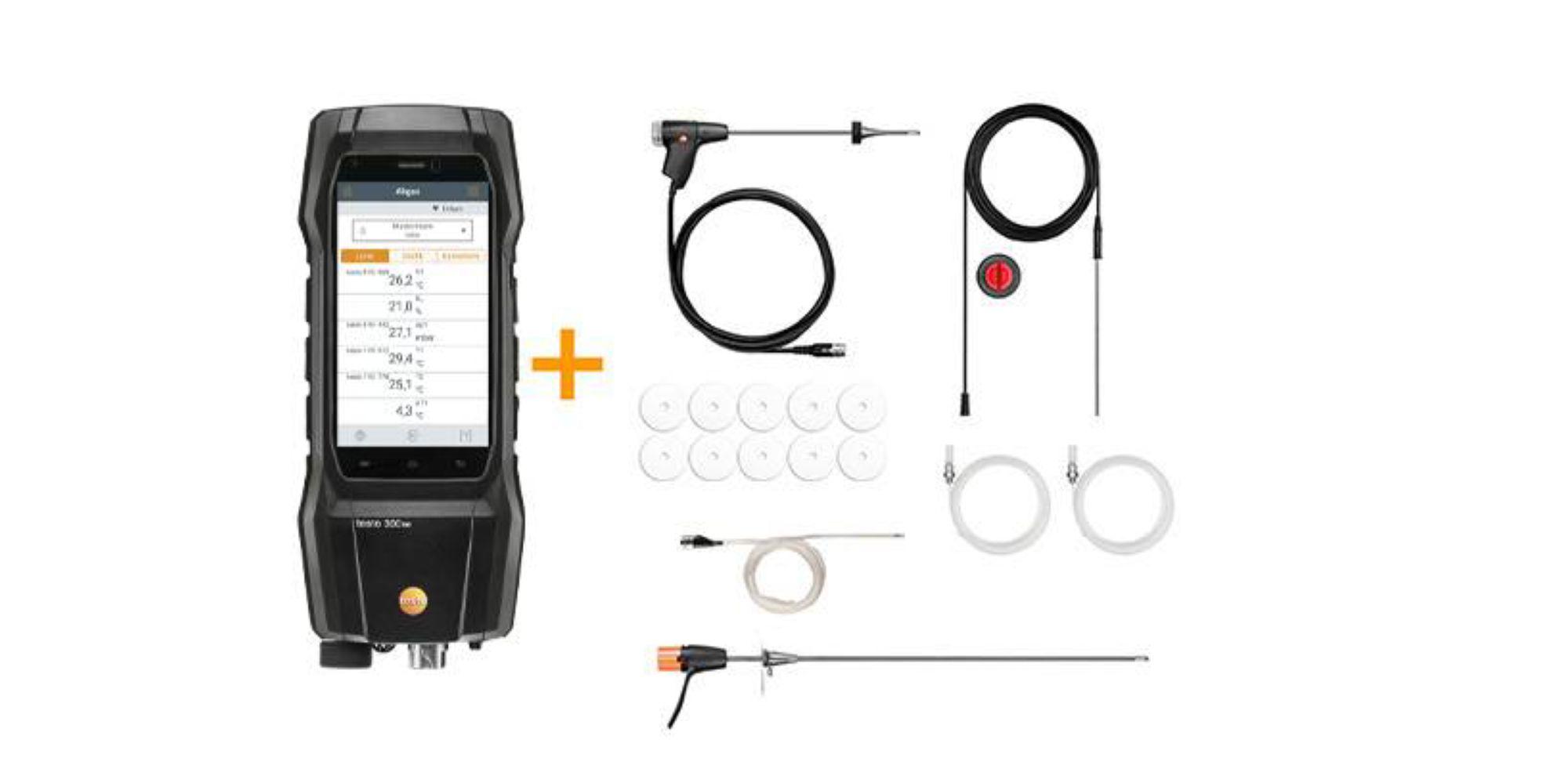 Bestellvorschlag Abgasmessgeräte-Set für 44. BImSchV-Messung