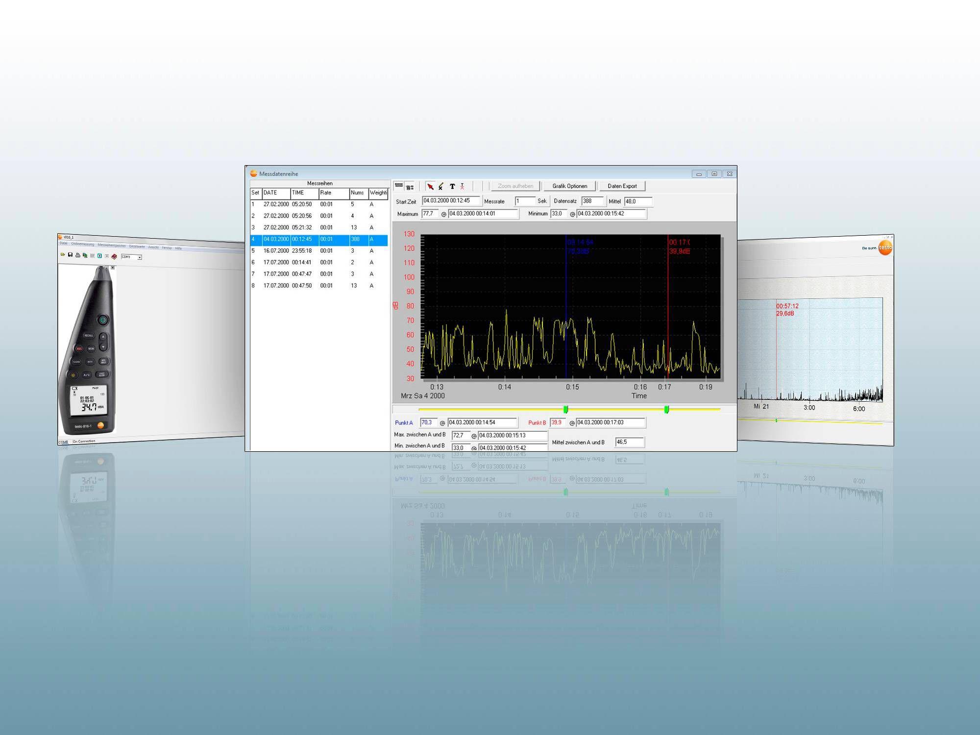 PC-Software testo 816-1