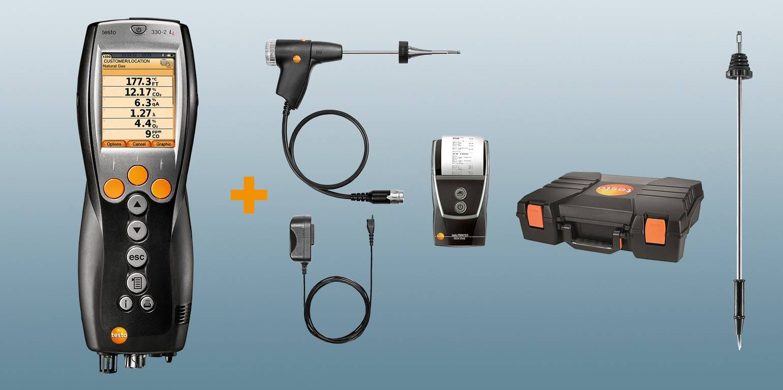testo 330-2 LL heating engineering kit