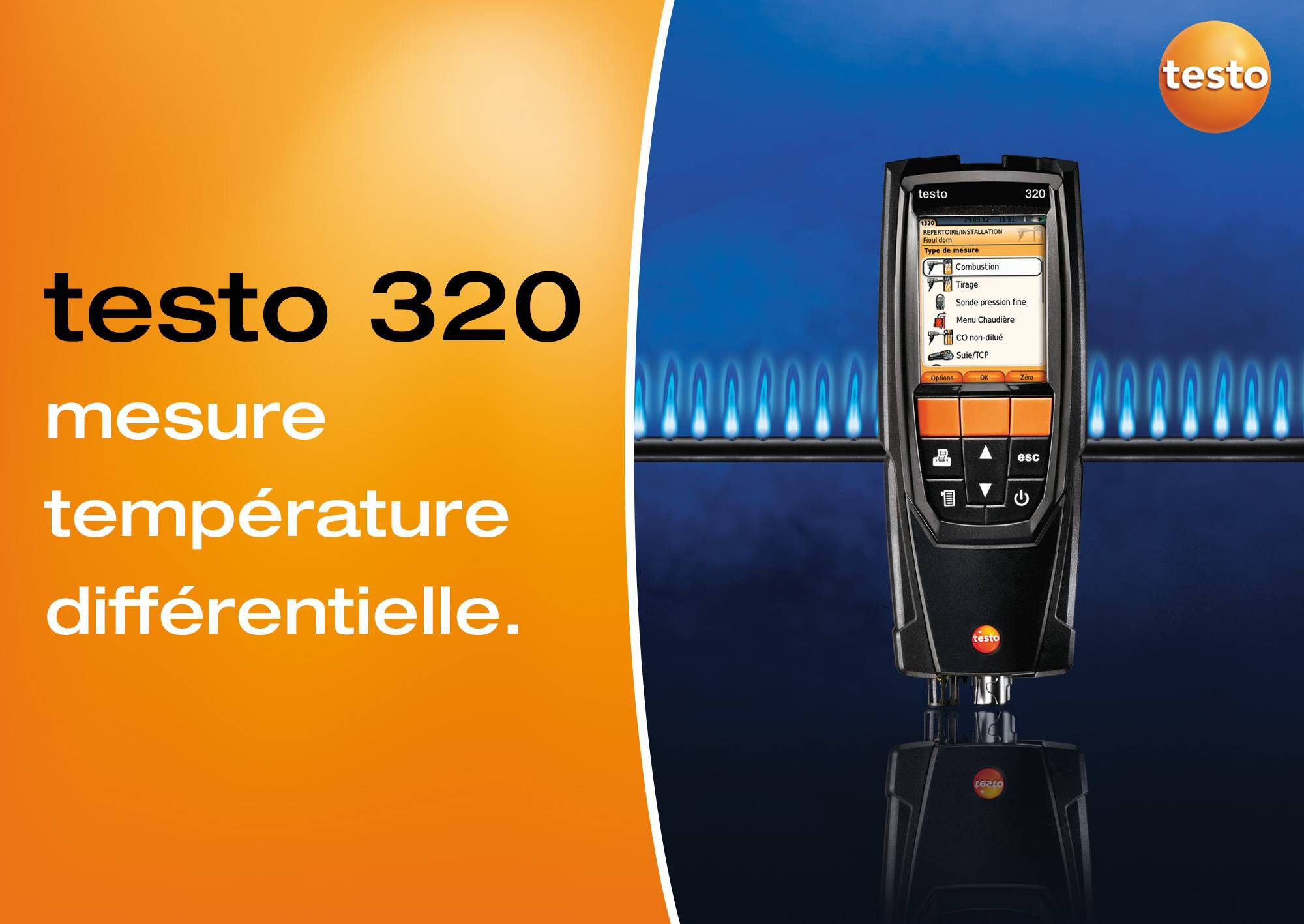 tutoriel vidéo mesure de la température différentielle testo 320