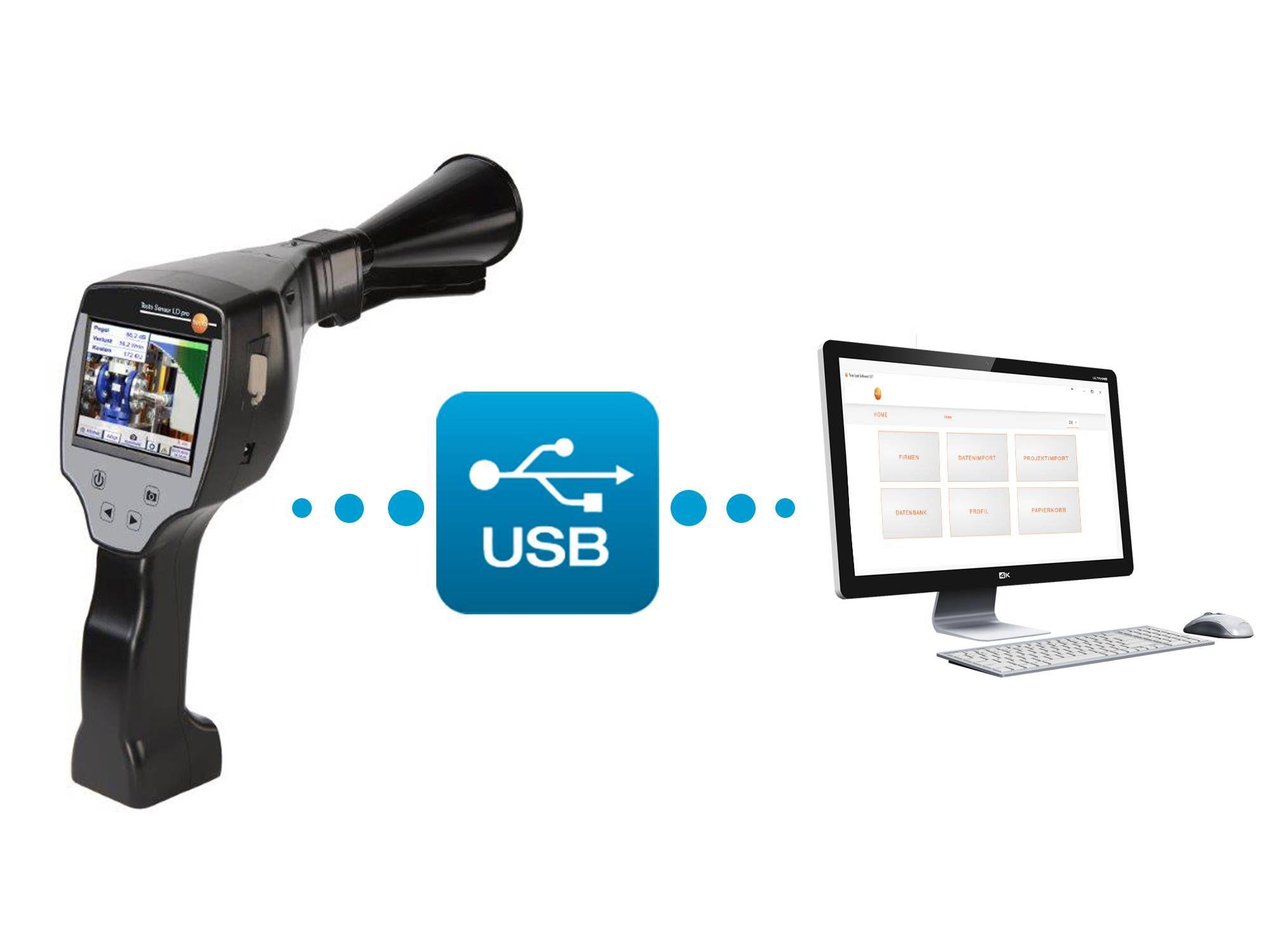 testo Sensor LD pro Software
