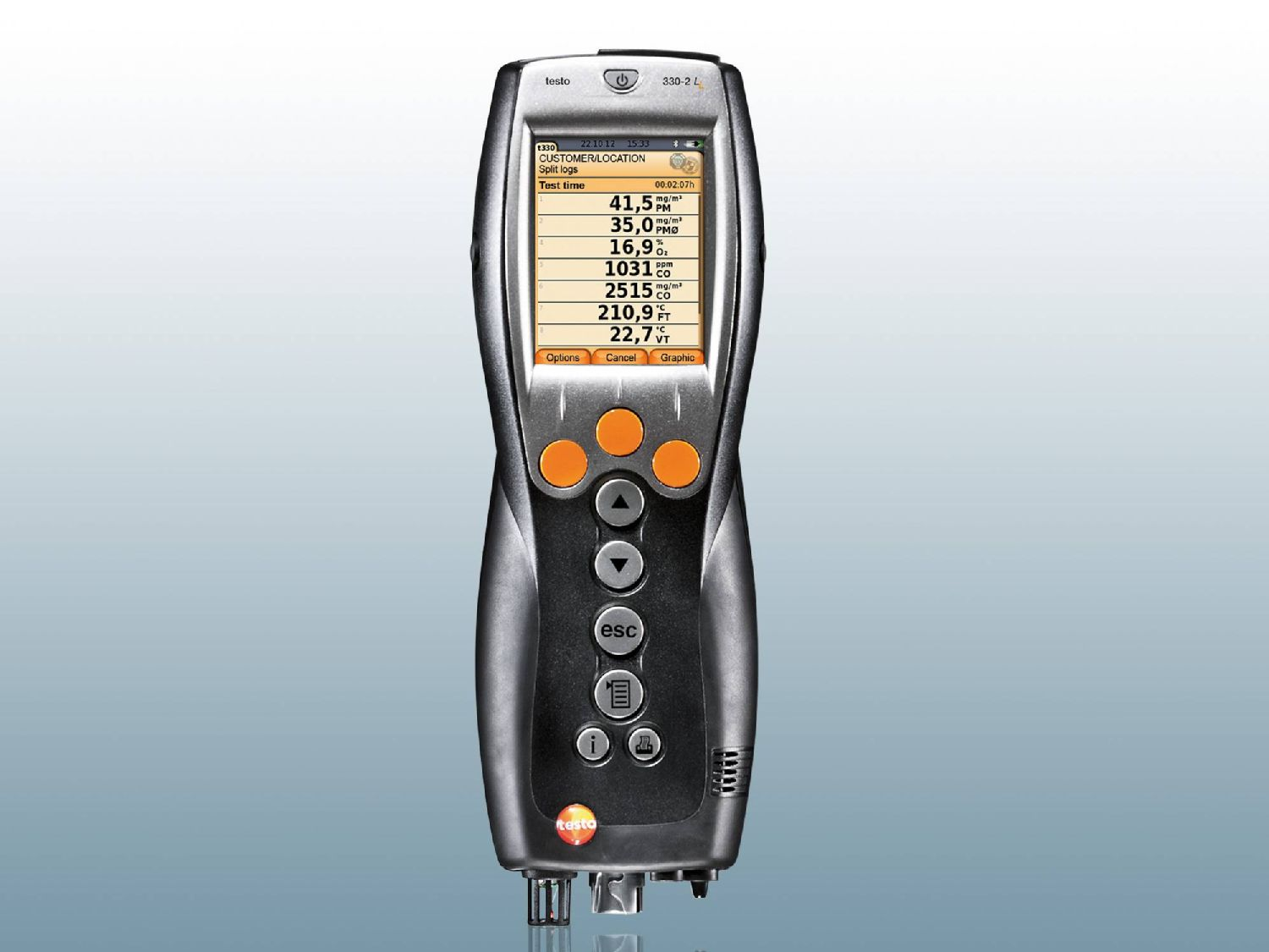 Analyseur de combustion testo 330-1/-2