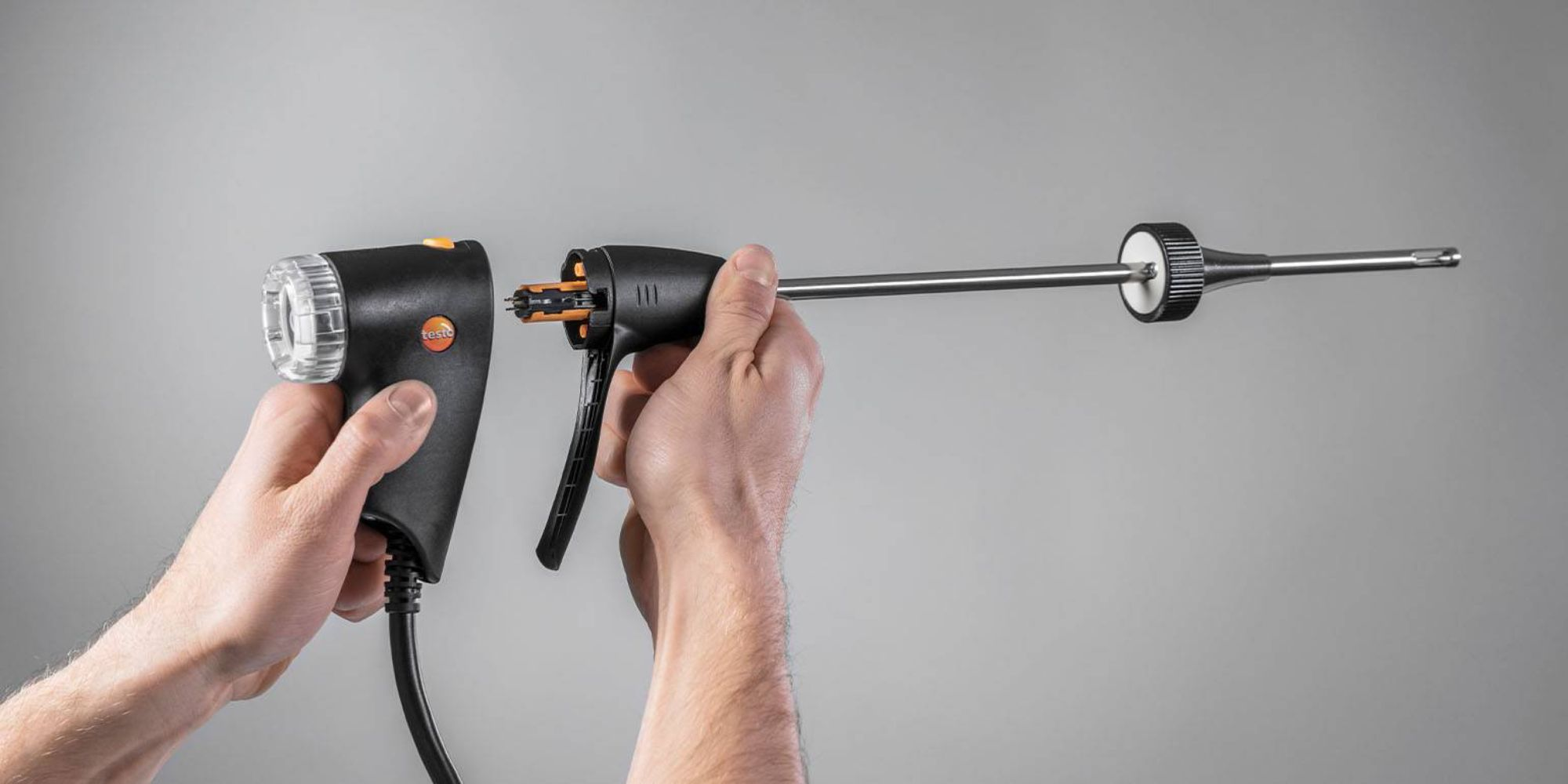 Probe handle Testo flue gas analyzer