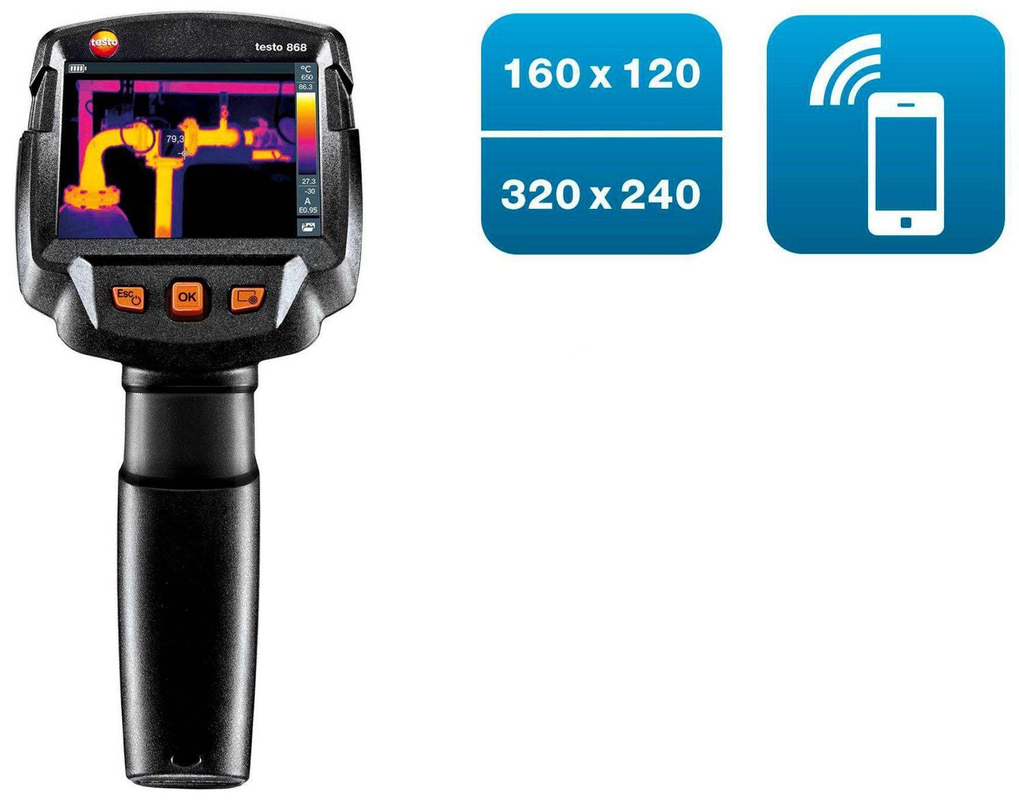 Cámara termográfica testo 868