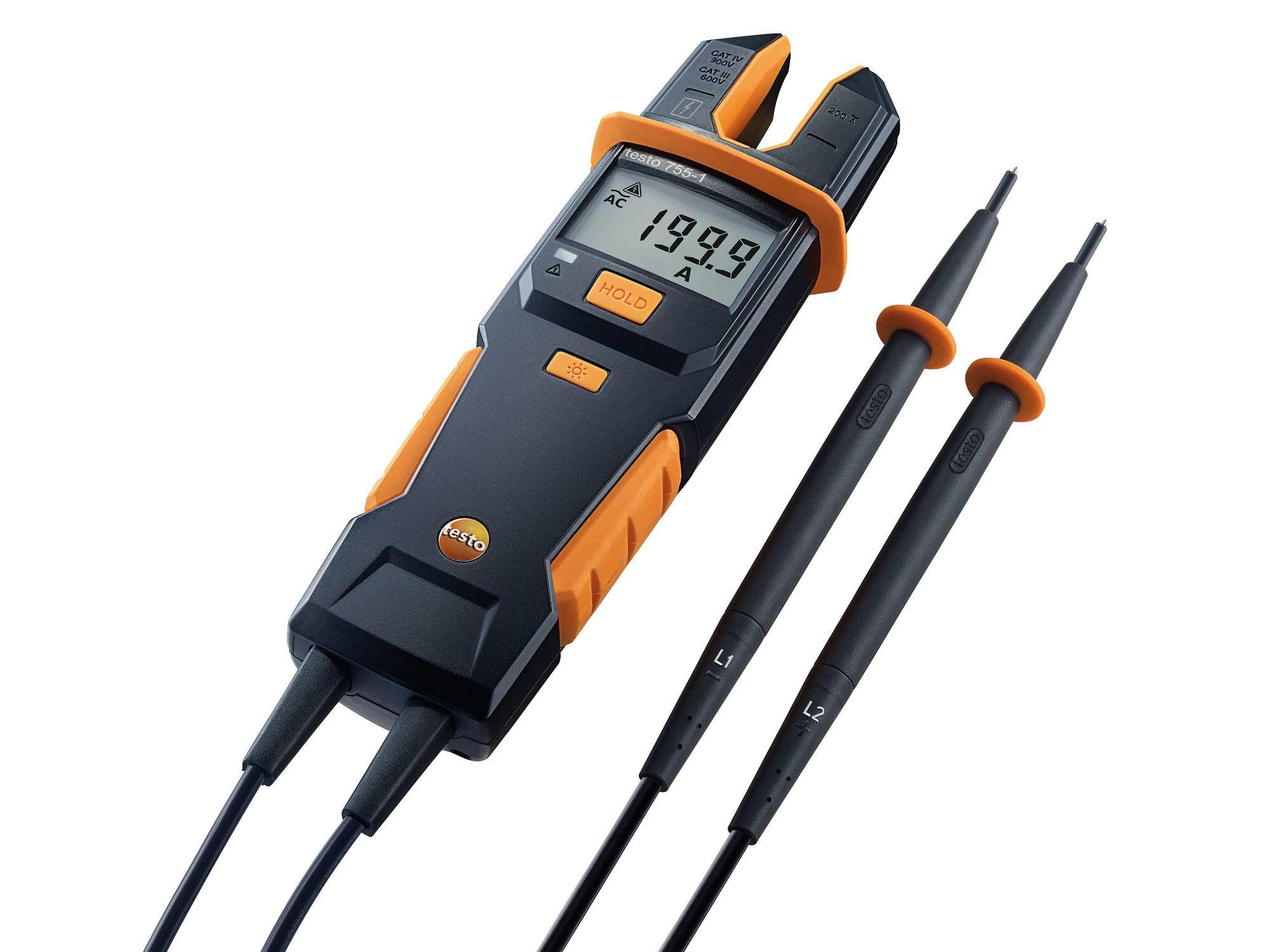 Tester de curent/tensiune testo 755-1