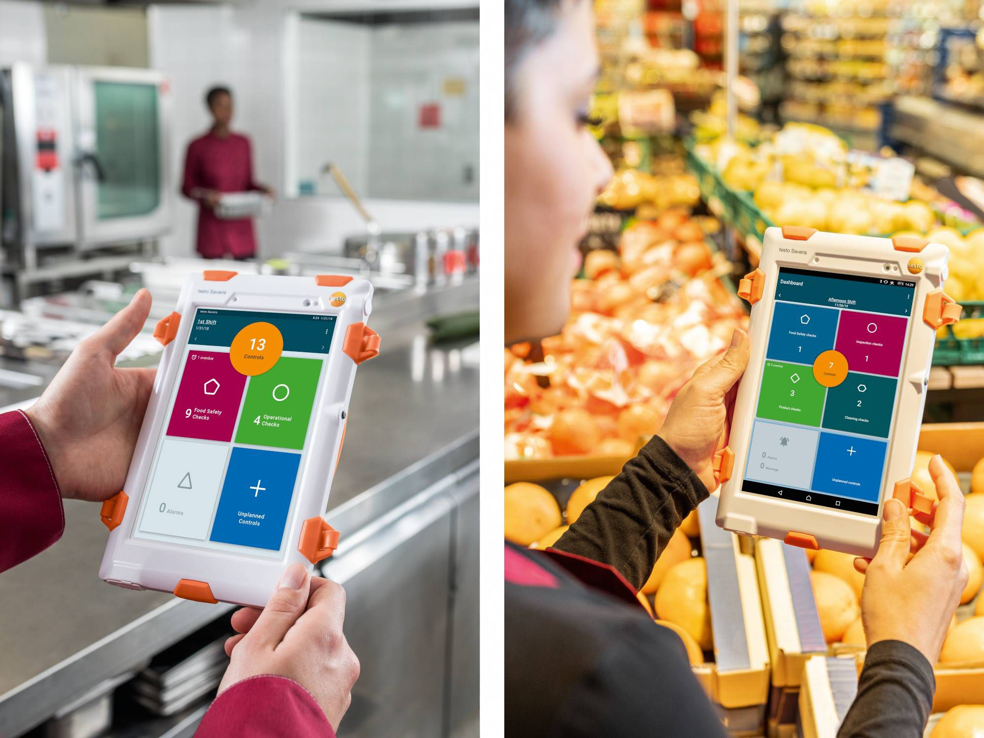 Our digital food safety systems