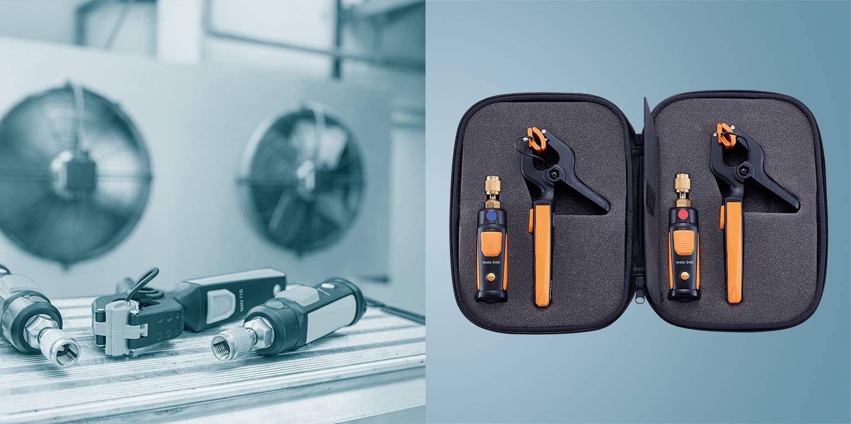 testo Smart Probes refrigeration set