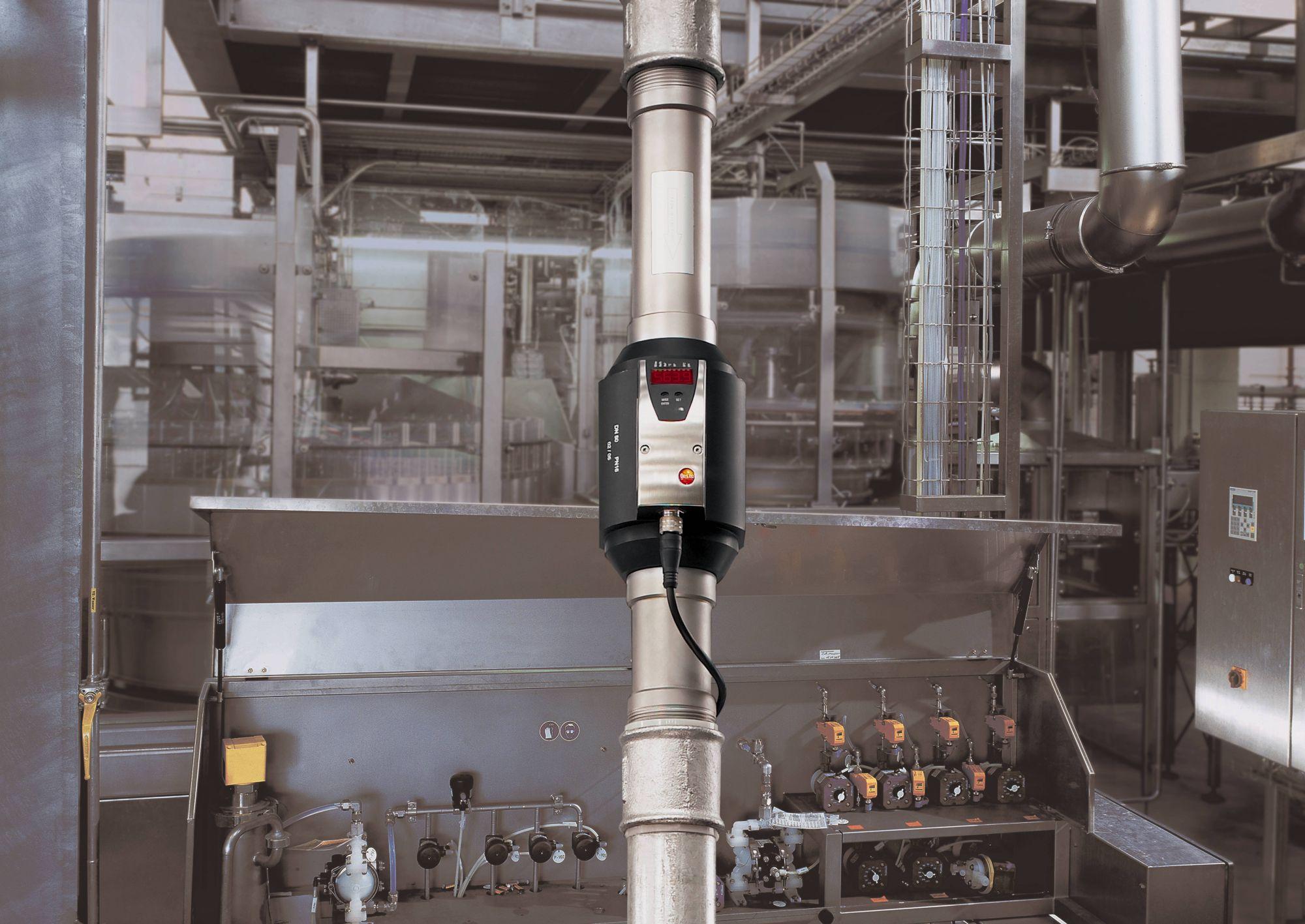 Débitmètre d'air comprimé (DN40) pour 1,3 ... 410 m3/h