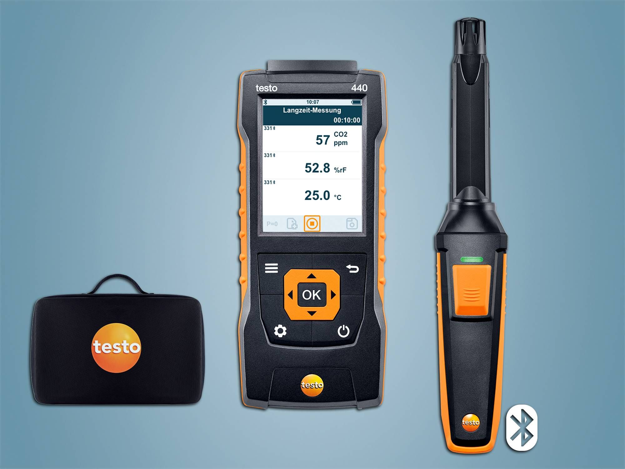 testo 440 CO2-Set mit Bluetooth