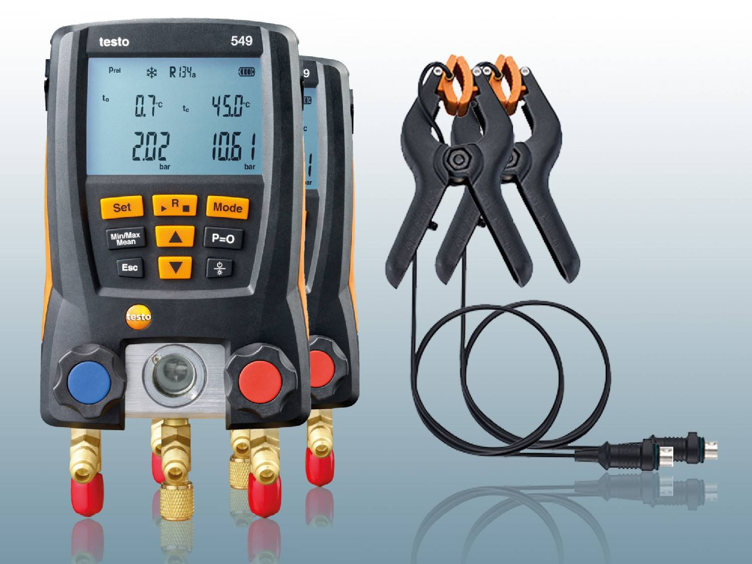 testo Smart Probes AC & refrigeration test kit