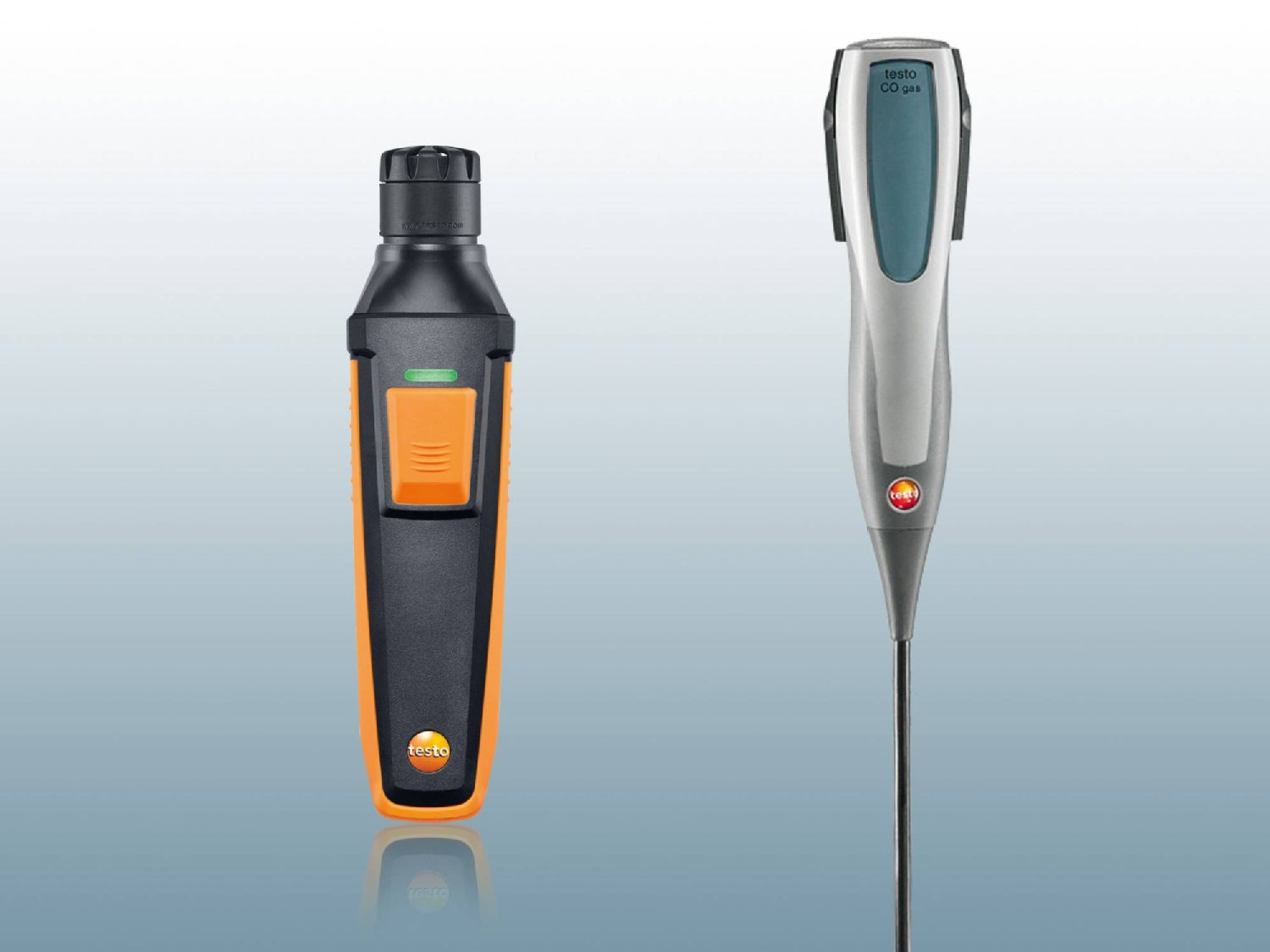 CO meters from Testo