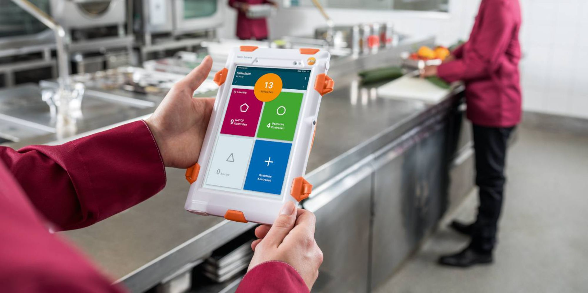 Lebensmittelsicherheit in Versorgungsbetrieben