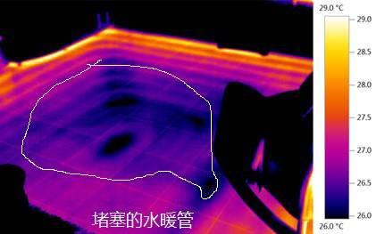 水暖管的堵塞檢測