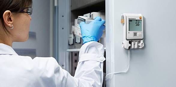 Instrumentos Testo para indústria farmacêutica