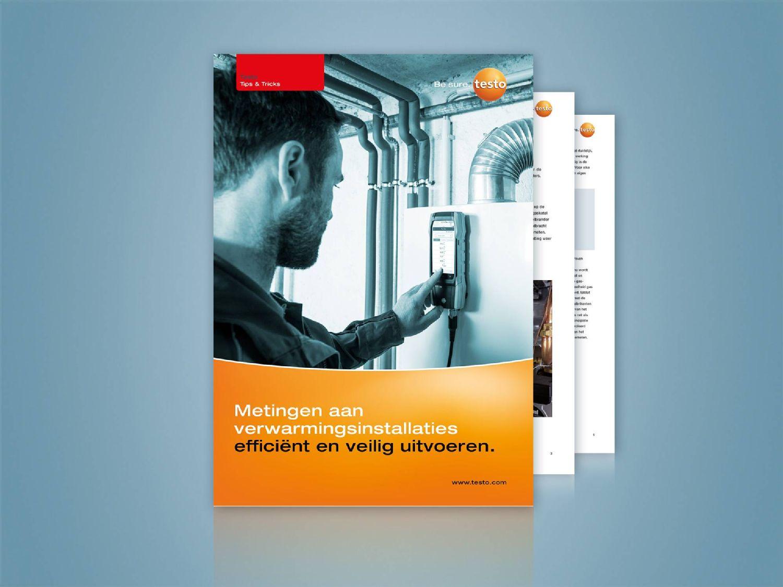 Meettoepassingen op verwarmingssystemen efficiënt en veilig uitvoeren.