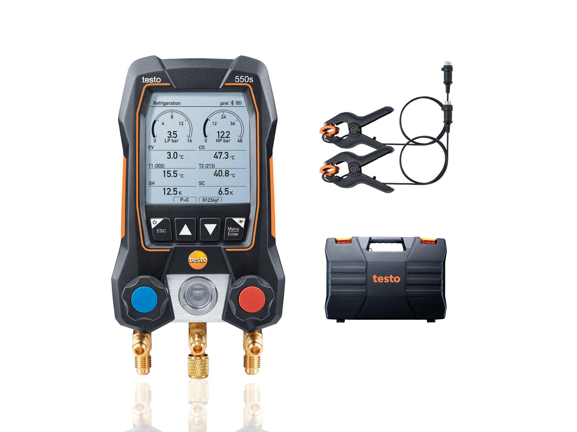 testo 550s basic kit