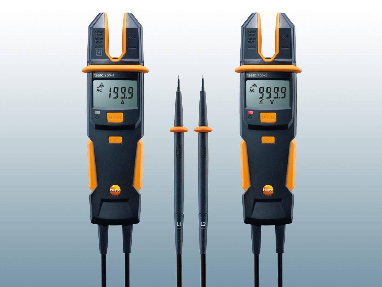 Prüfgeräte für Strom von Testo