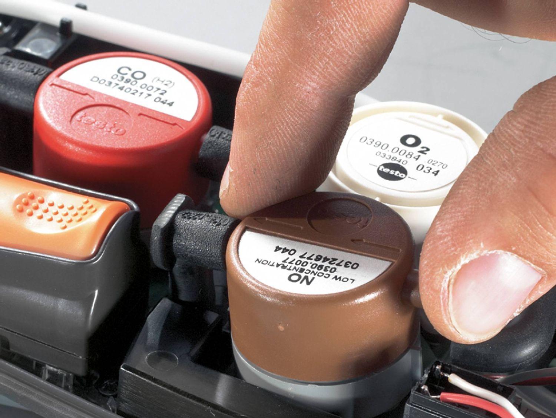 Technique de mesure des émissions de Testo