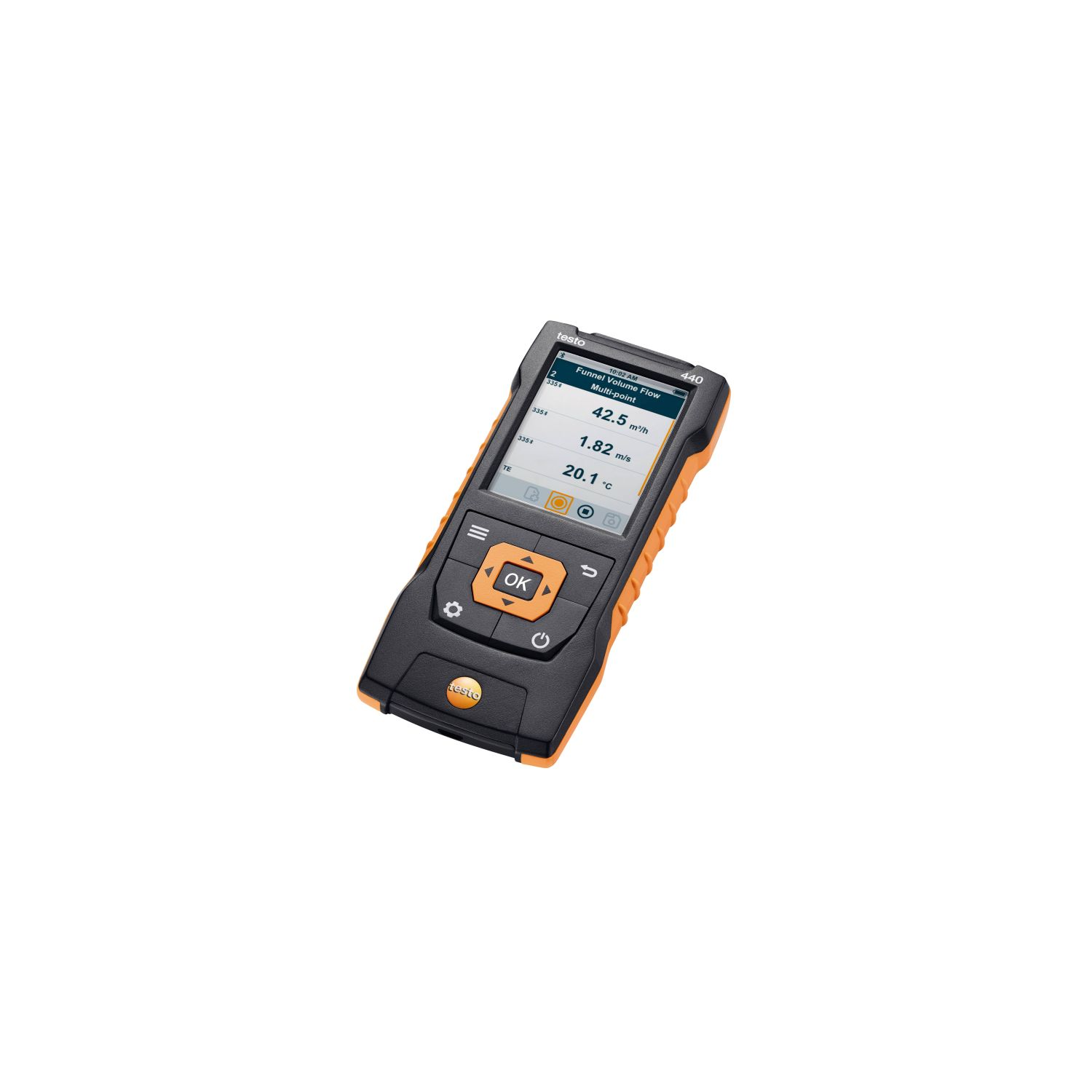 testo 440 - air velocity & IAQ measuring instrument