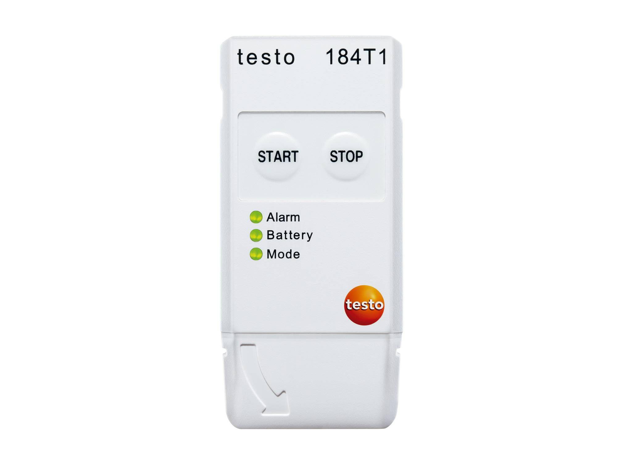 Monitor de temperatura en transporte testo 184 T1