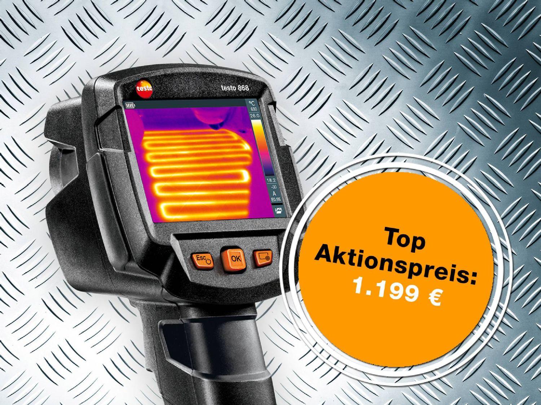 Aktionsangebot Wärmebildkamera testo 868