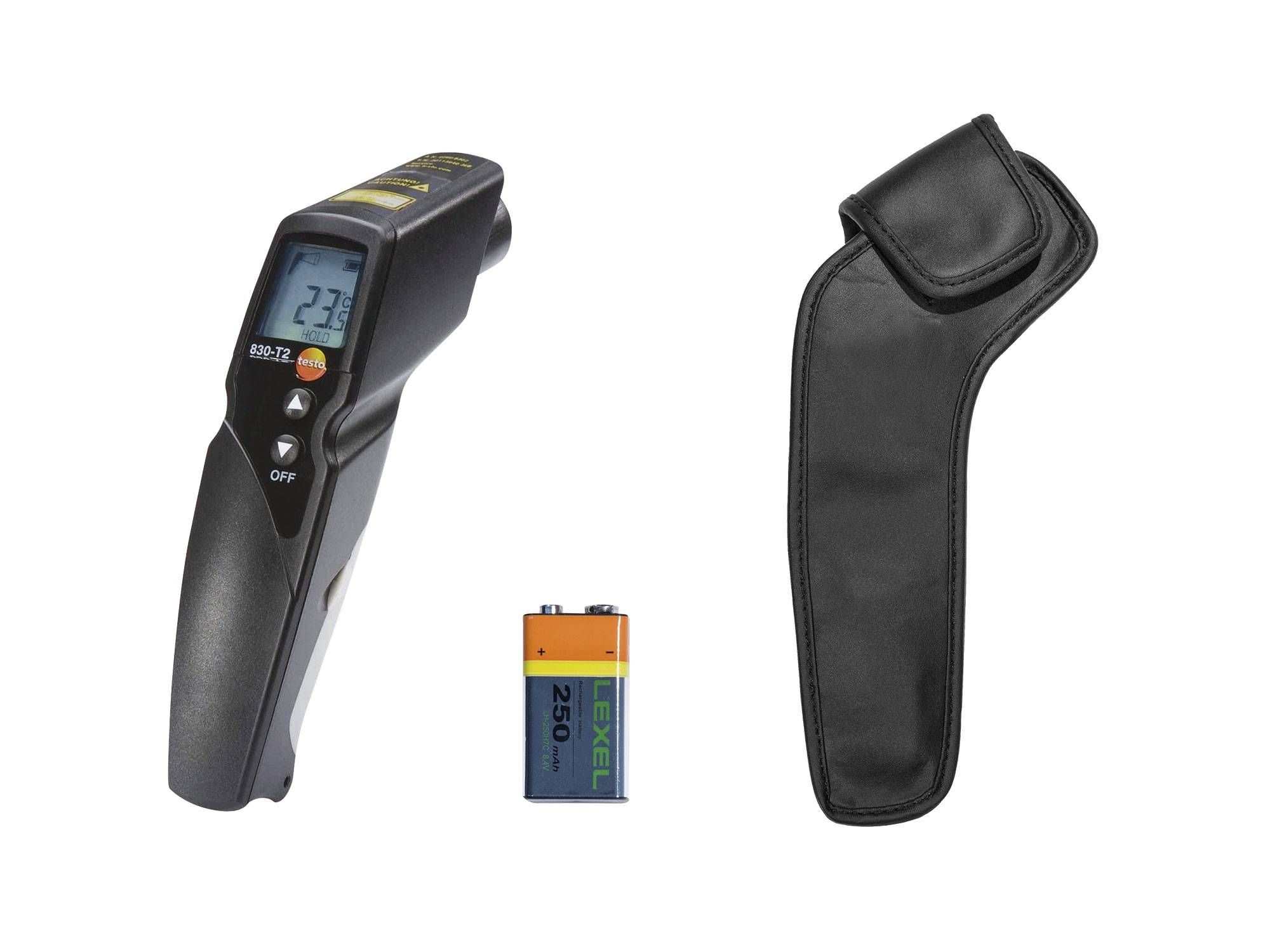 Infrared thermometer testo 830-T2 kit
