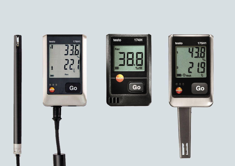 Temperatur und Luftfeuchtigkeit überwachen - Testo Datenlogger