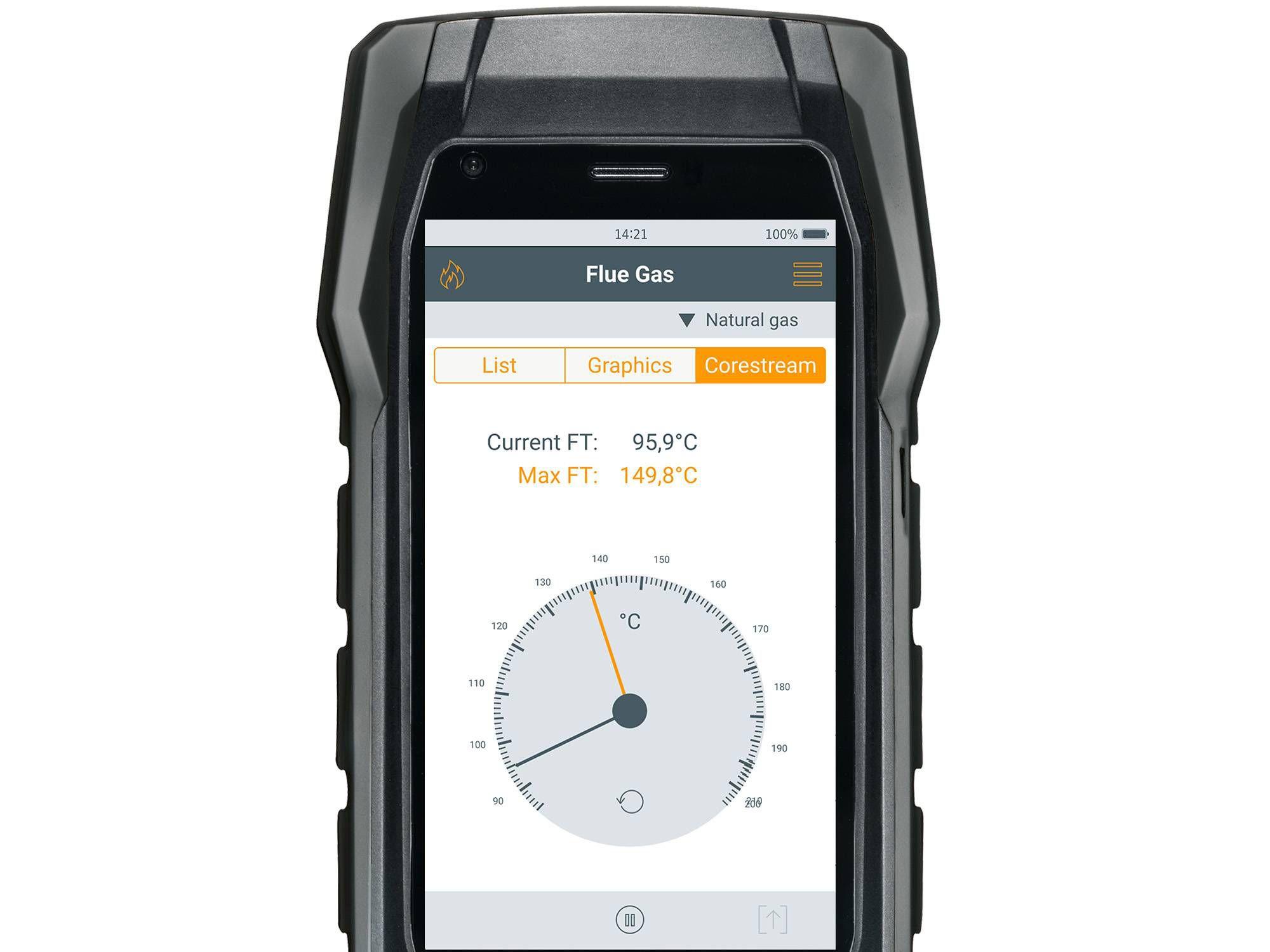 testo 300 core current flue gas analyzer