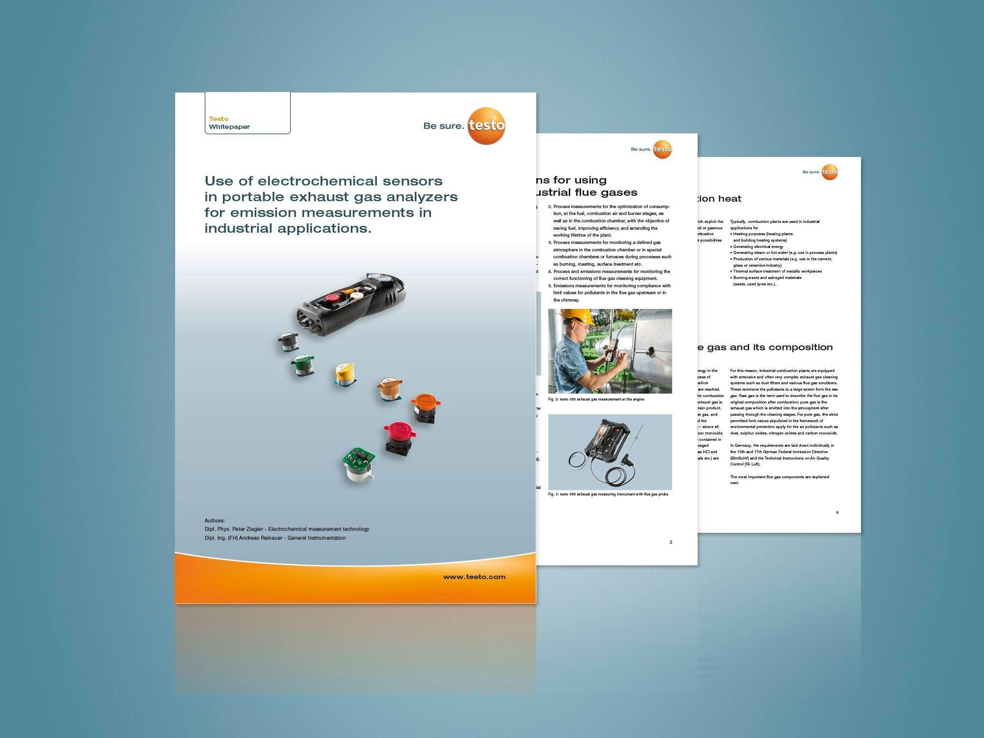 연소가스 분석기를 위한 </br>전기화학식 센서기술 백서