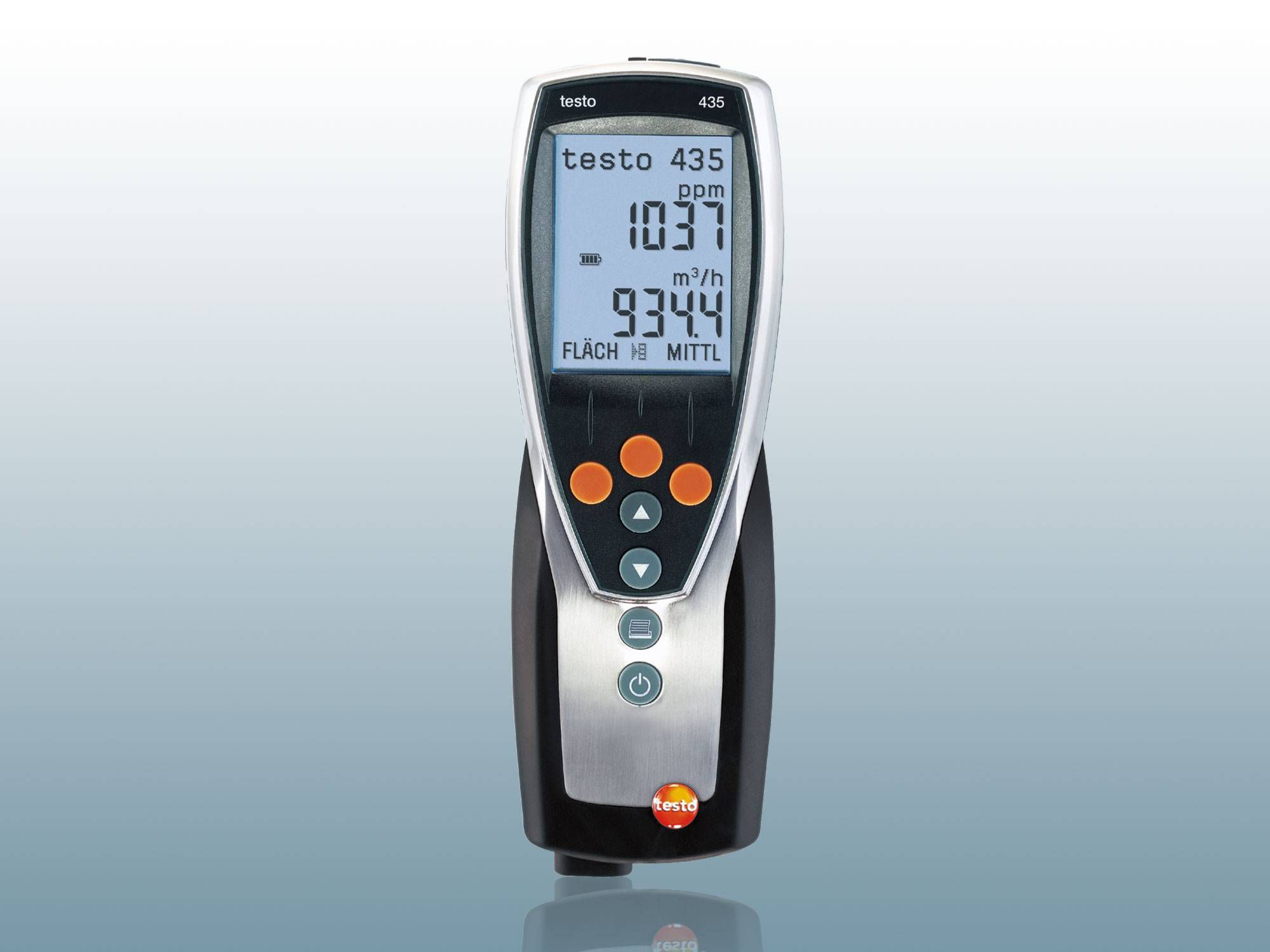 Testo's surface temperature meter