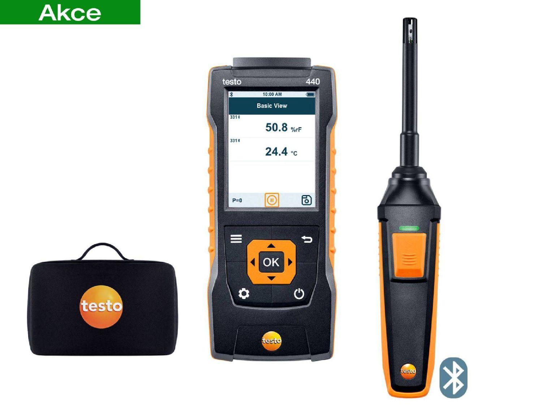 testo 440 Humidity Kit with Bluetooth®