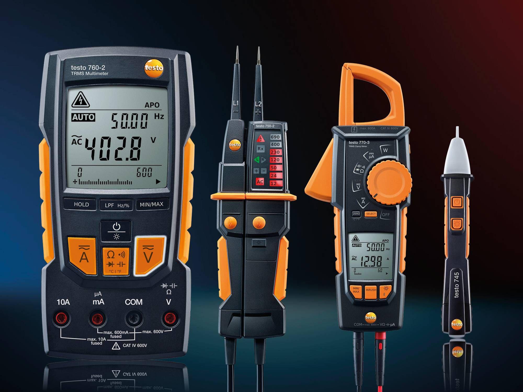 Electrical measurement parameters
