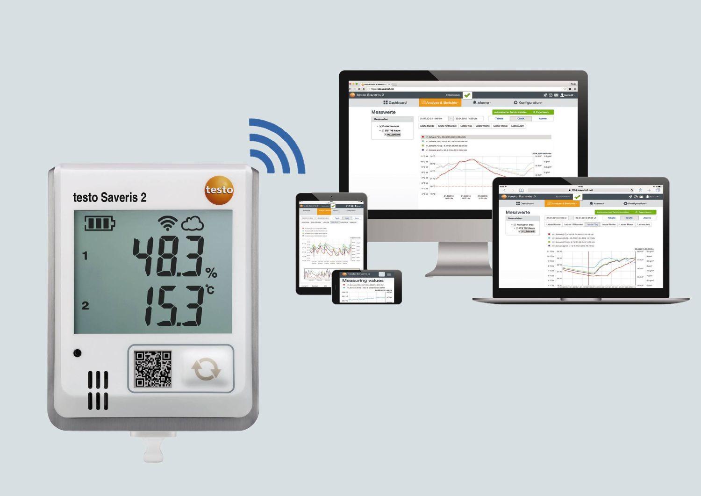 Klimaüberwachung mit testo Saveris 2
