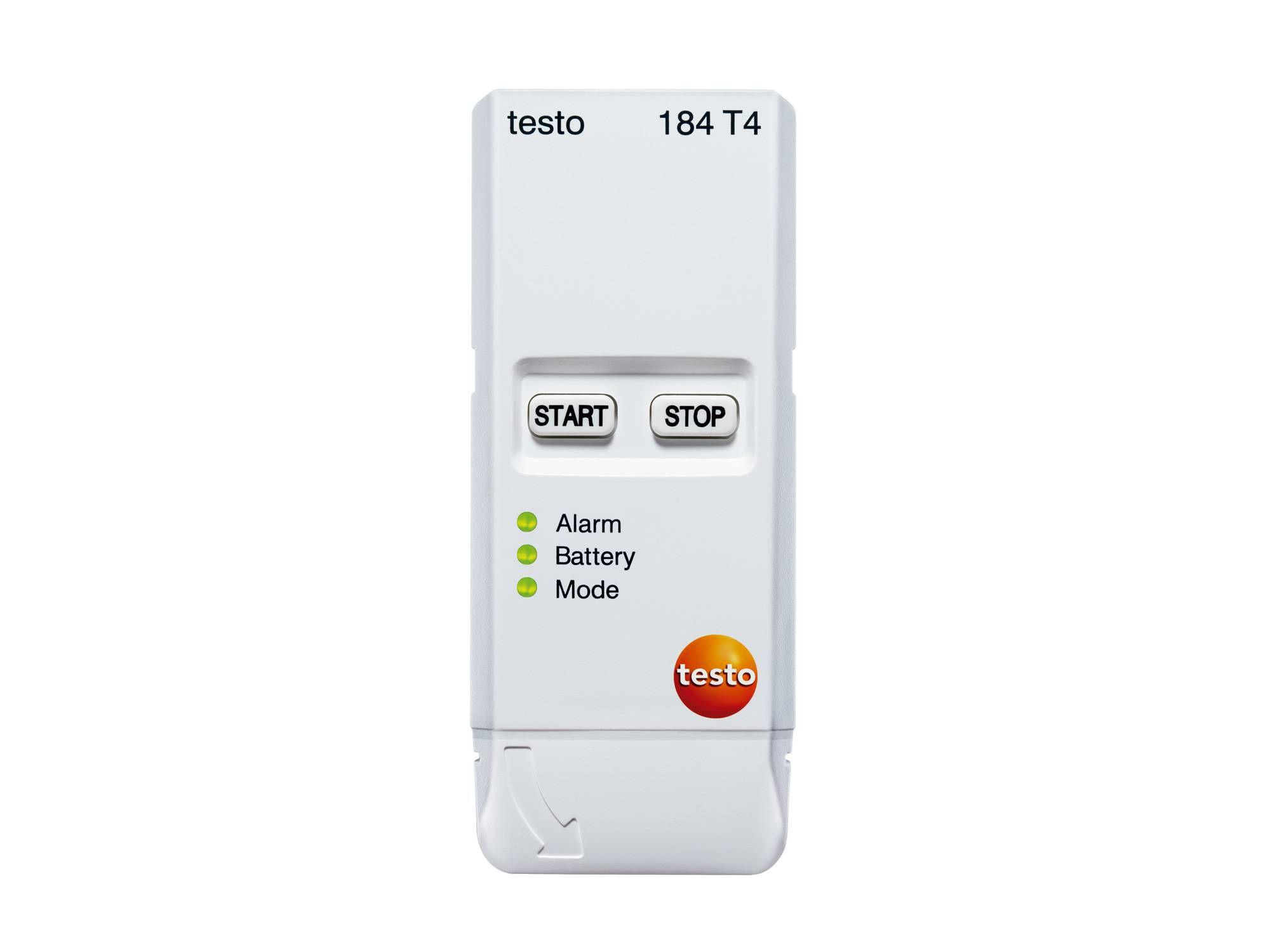 Monitor de temperaturas bajas hasta -80 ºC testo 184 T4